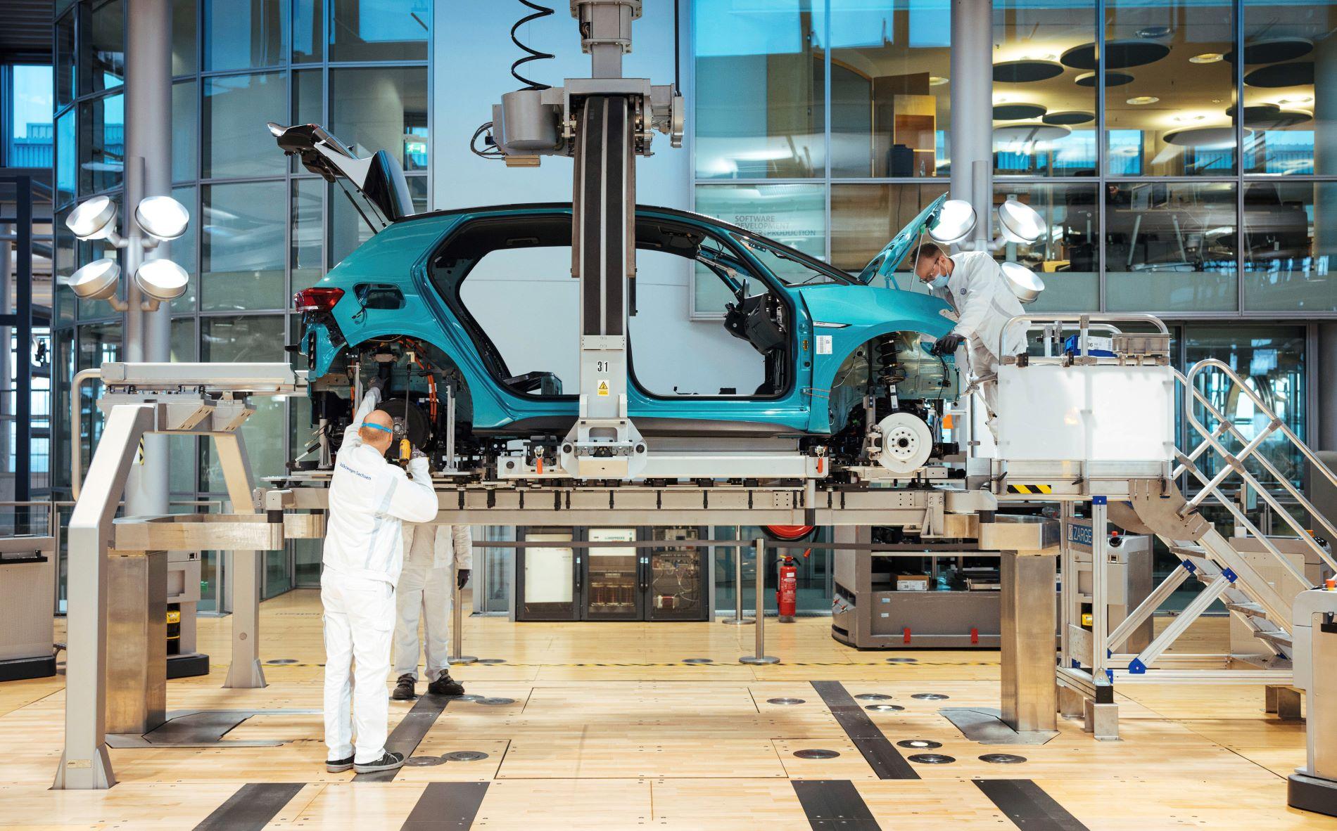 Volkswagen Id3 Dresden Production Line 2