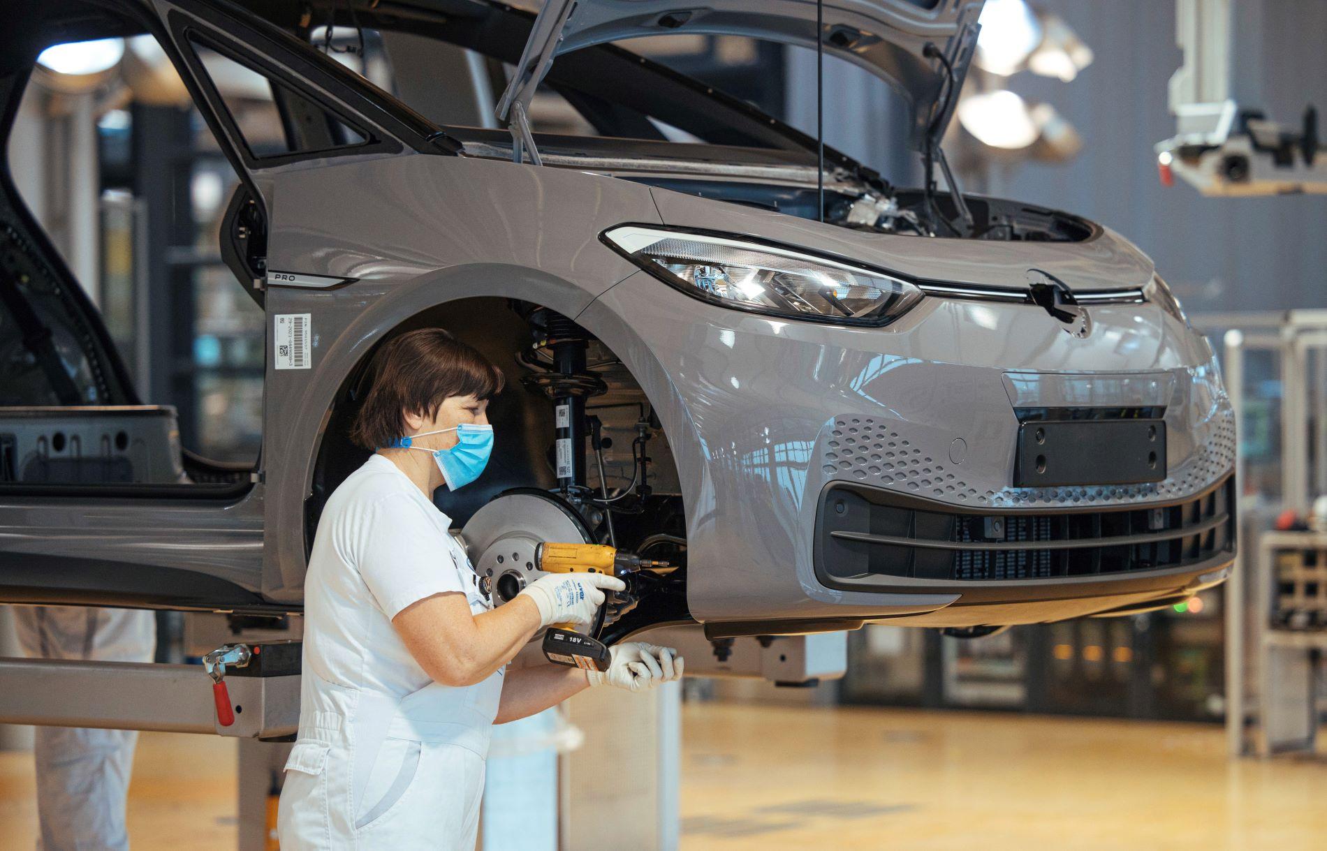 Volkswagen Id3 Dresden Production Line 3