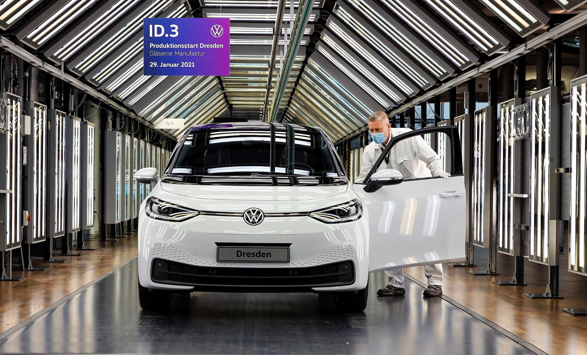 Volkswagen Id3 Dresden Production Line