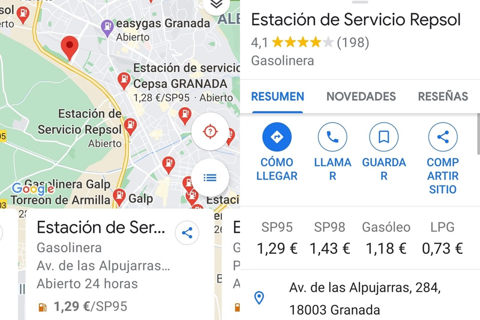 Combustibles Google Maps (4)