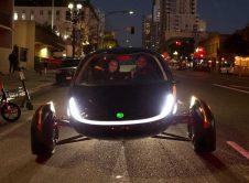 Aptera Three Wheels Electric Vehicle Front