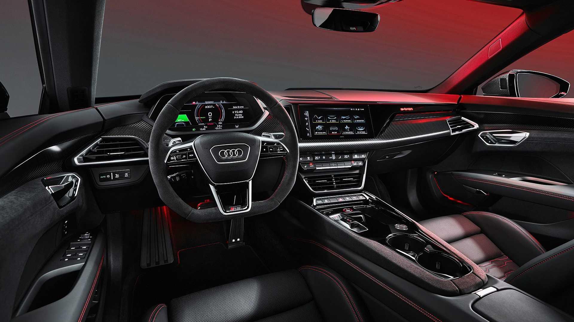 Audi Etron Gt Presentation Interior