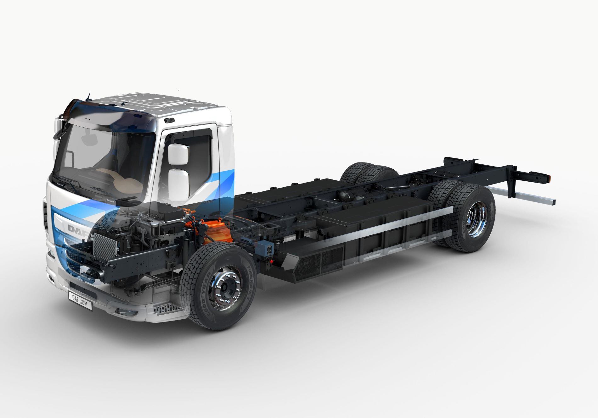 Daf Truck Lf View