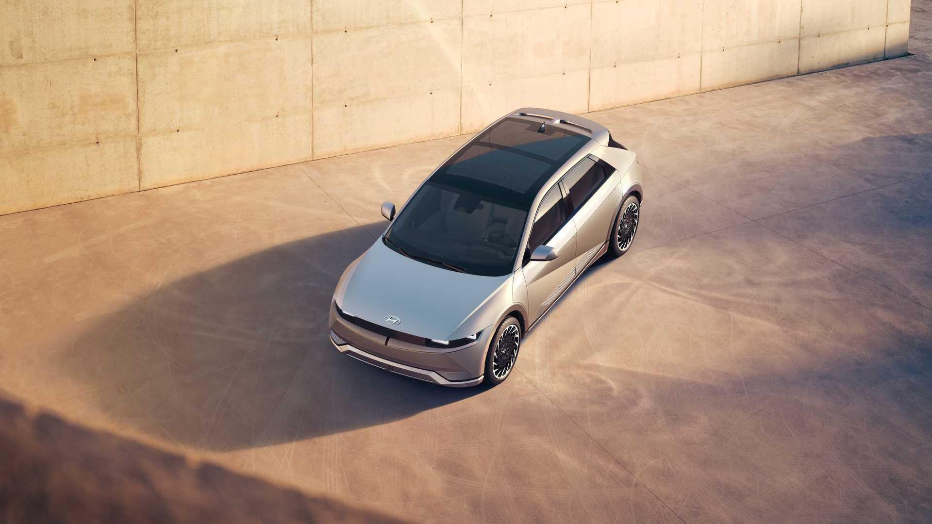 Hyundai Ioniq 5 Top View