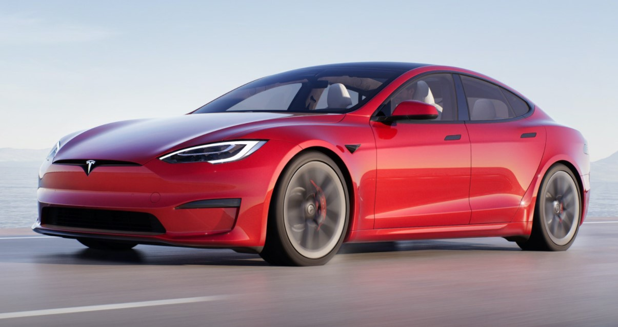 Tesla Model S 2021 Red