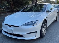 Tesla Model S 2021 Test Car Carmel