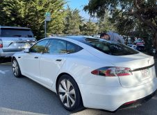 Tesla Model S 2021 Test Car Carmel Back