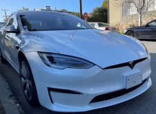 Tesla Model S 2021 Test Car Carmel Front