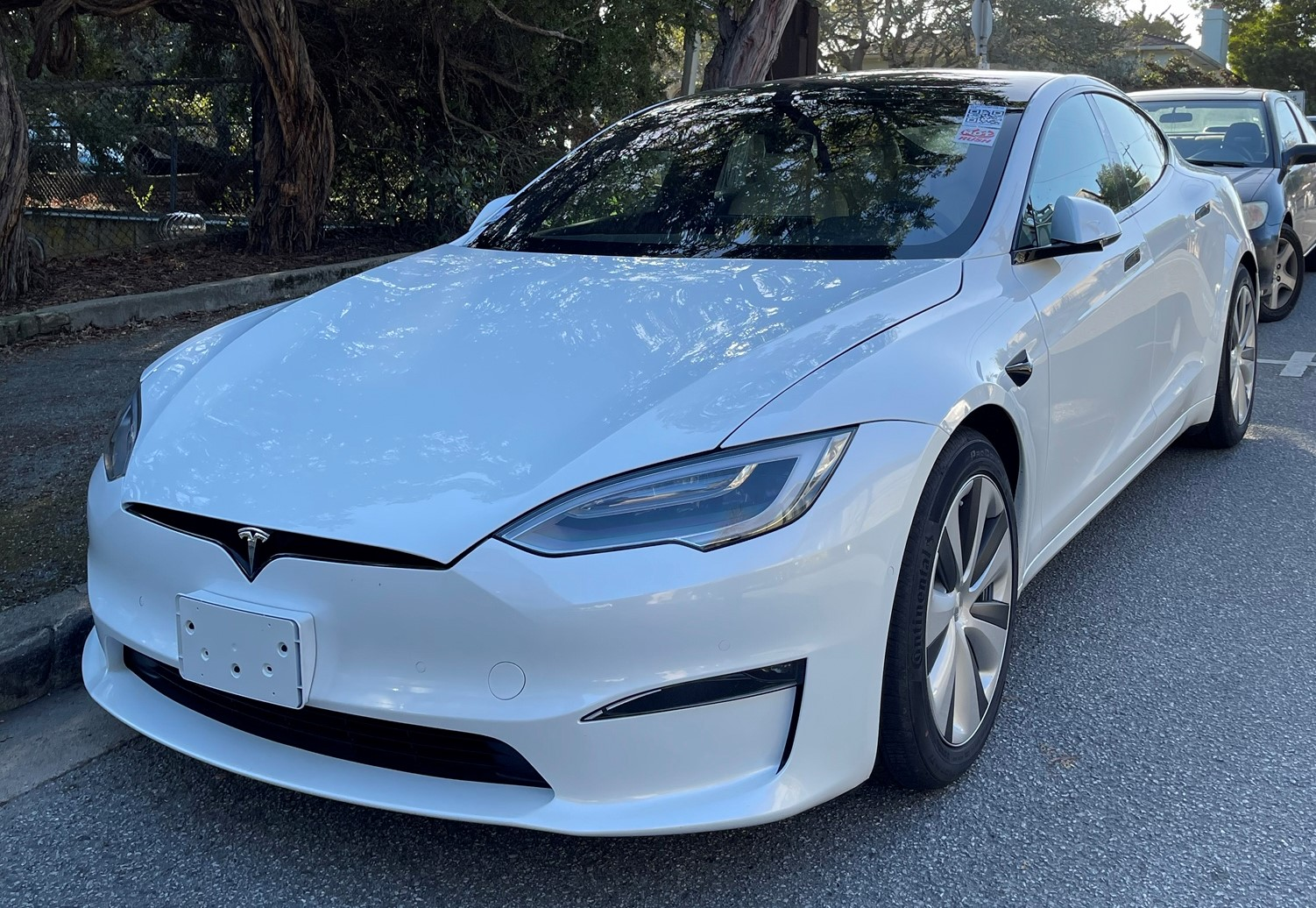 Tesla Model S 2021 Test Car Carmel