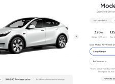 Tesla Model Y Available Versiones February 2021