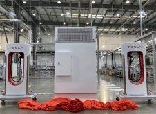 Tesla Supercharger Factory Shanghai