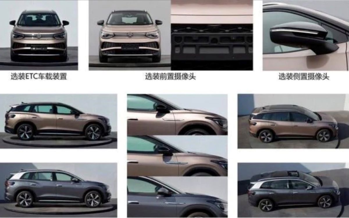Vw Id6 Leaked Pic All