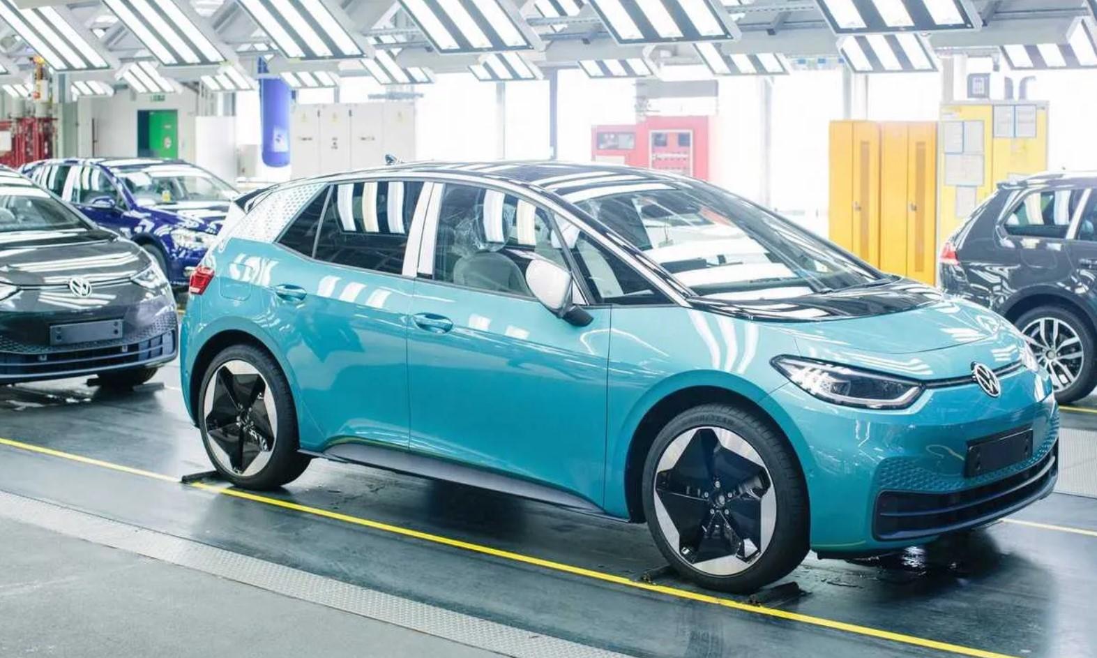 Volkswagen Id3 Zwickau Production Line