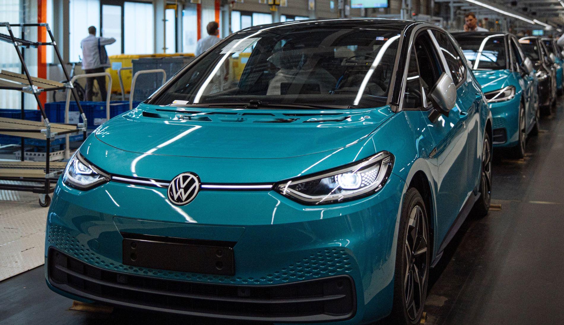 Volkswagen Id3 Zwickau Production