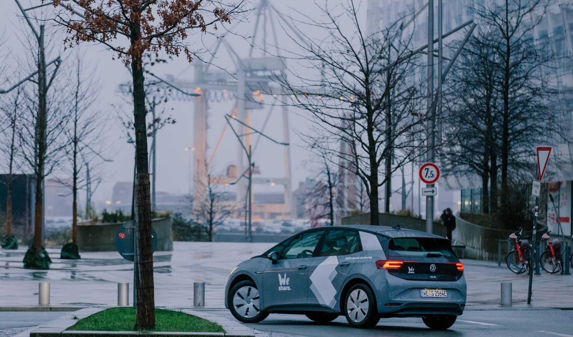 Volkswagen Weshare Hamburg Id3 Back