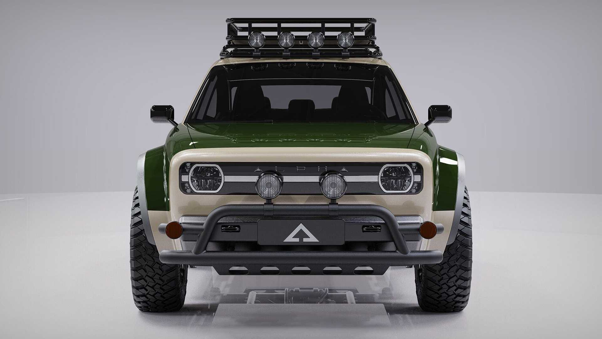Alpha Jax Electric Cuv Front