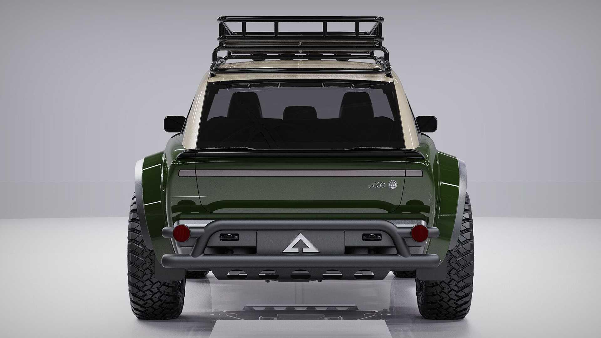 Alpha Jax Electric Cuv Rear