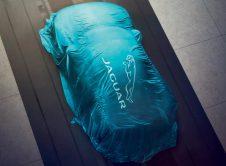 Jaguar Ev Covered Car