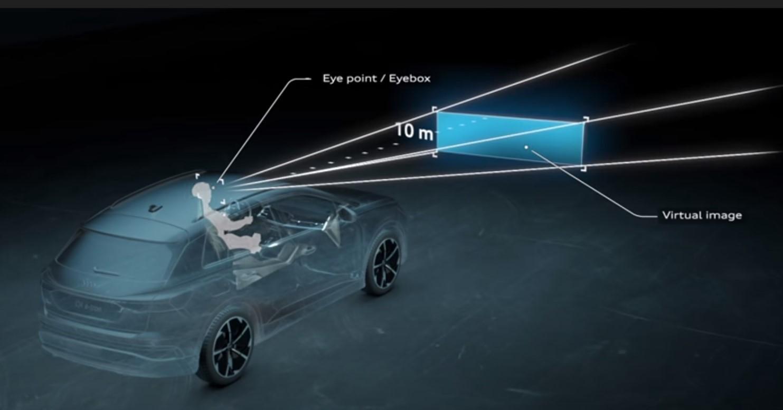 Audi Q4 Etron Hud 10m