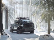 Canoo Pickup Snow