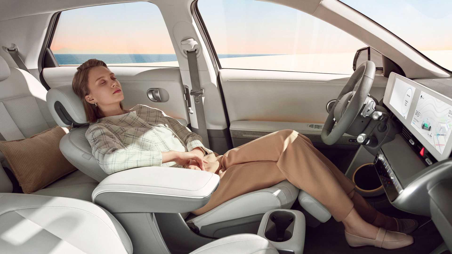 Hyundai Ioniq 5 Interior Relax