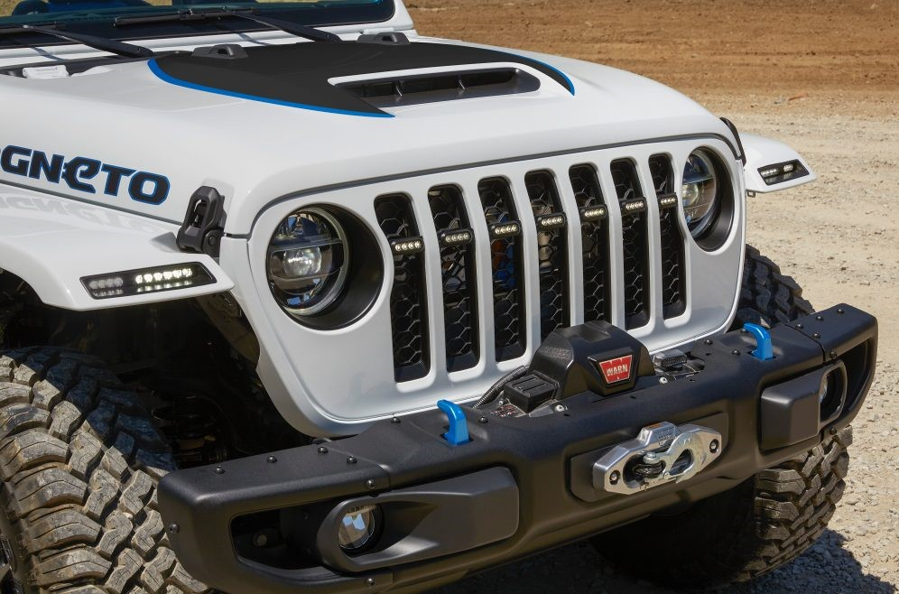 Jeep Wrangler Magneto Front Close