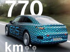 Mercedes Benz EQS 770 km Autonomía