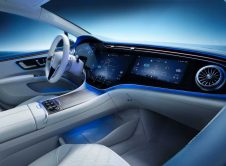 Mercedes Benz Eqs Awesome Interior Side