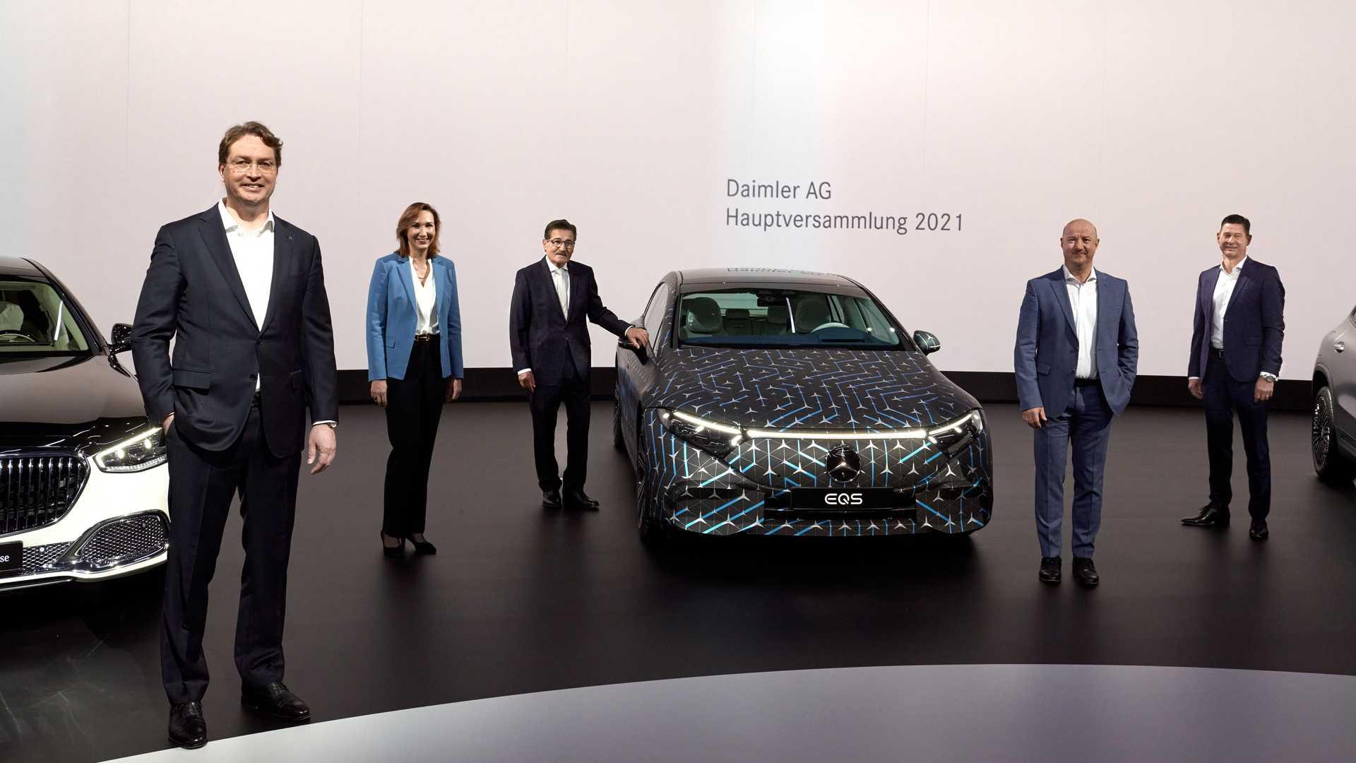 Mercedes Benz Eqs Daimler Ag
