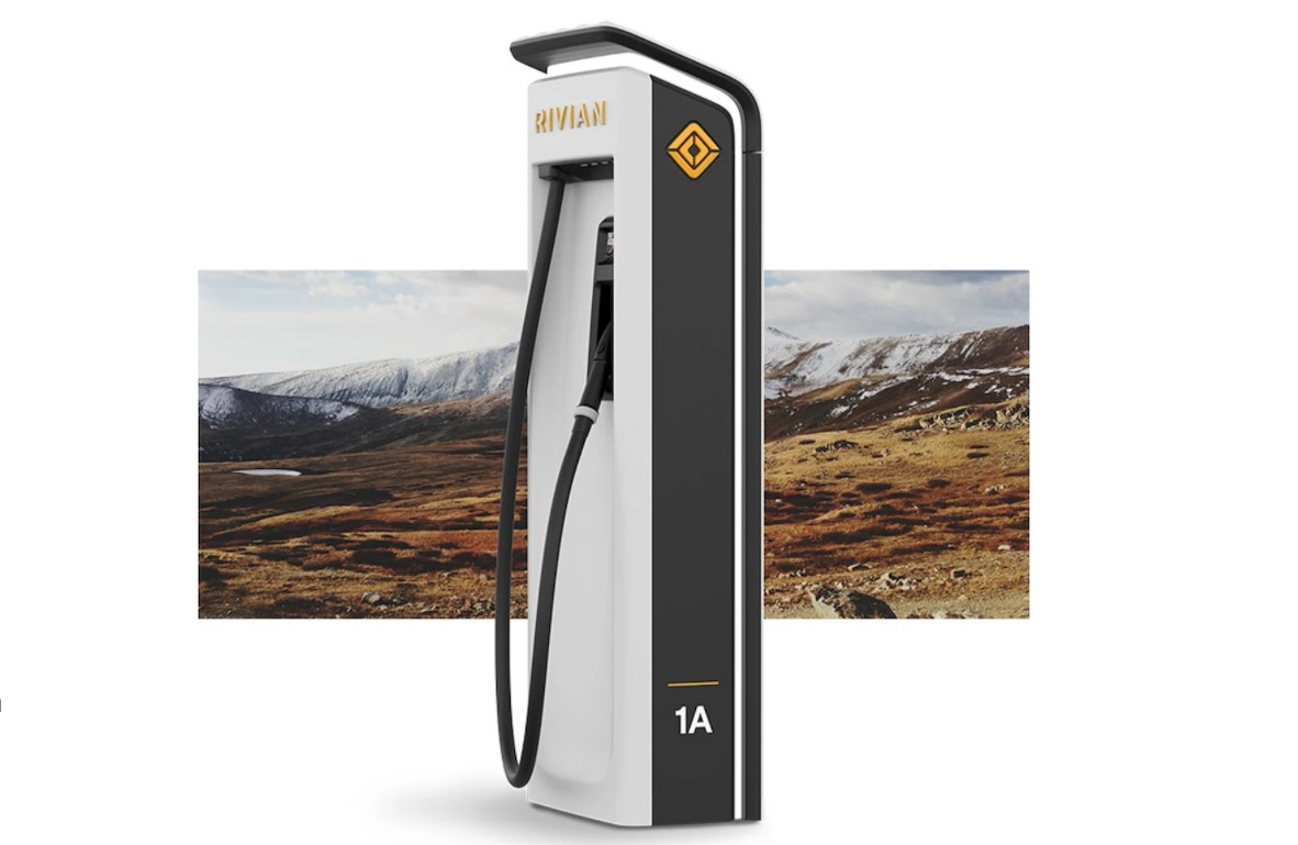 Rivian Adventure Network Charger