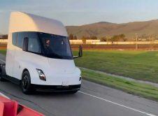 Tesla Semi White Fremont Tests