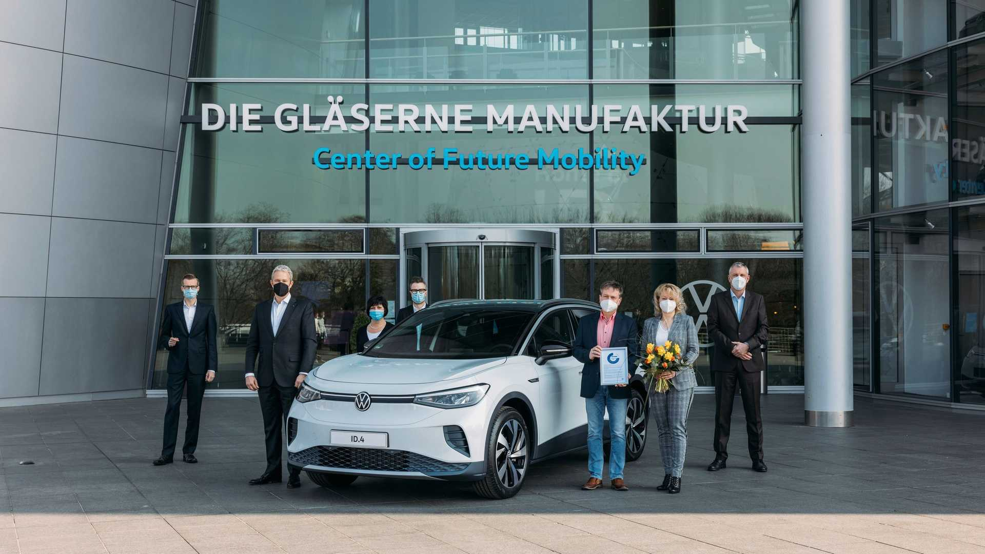 Volkswagen Id.4 Delivery Germany Factory