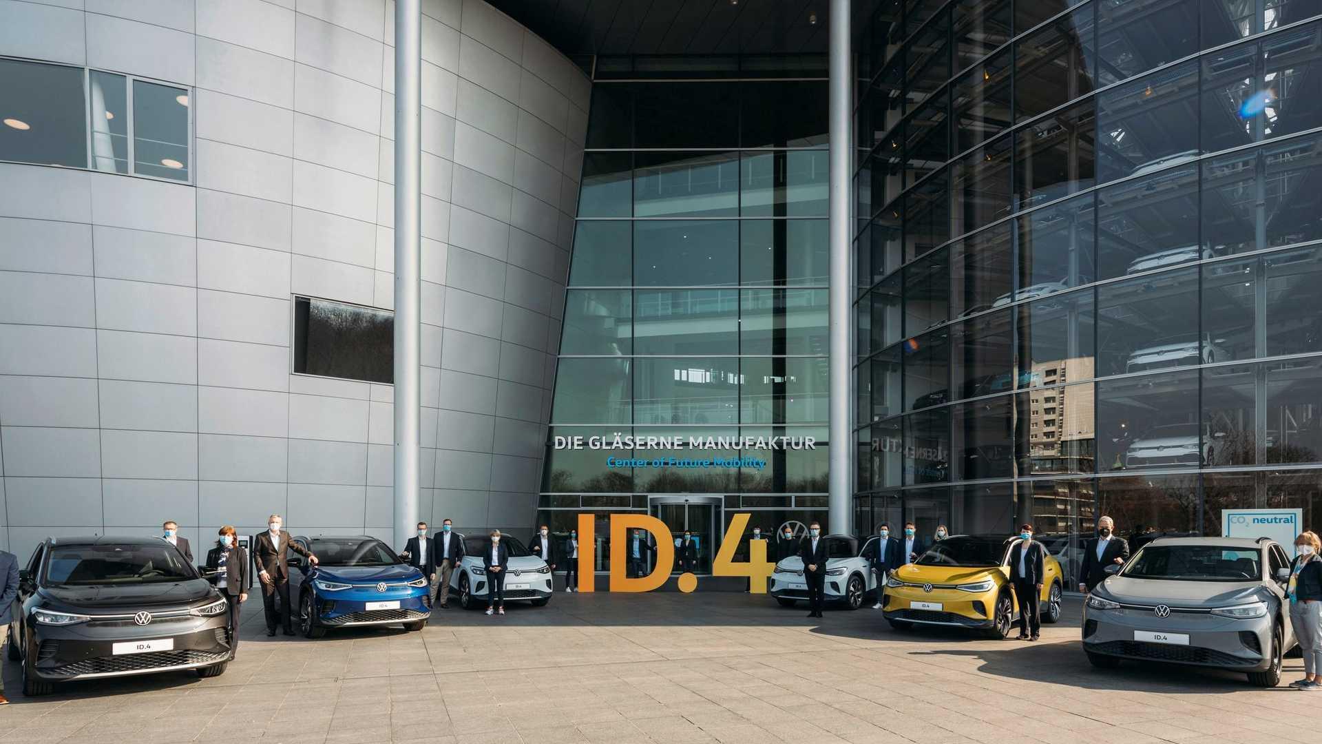 Volkswagen Id.4 Alemania