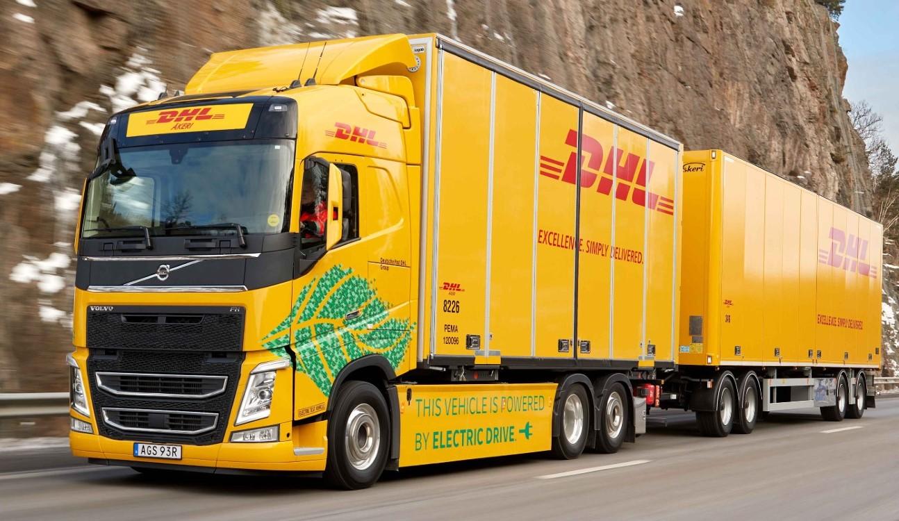 Volvo Fh Dhl transporte de mercancías