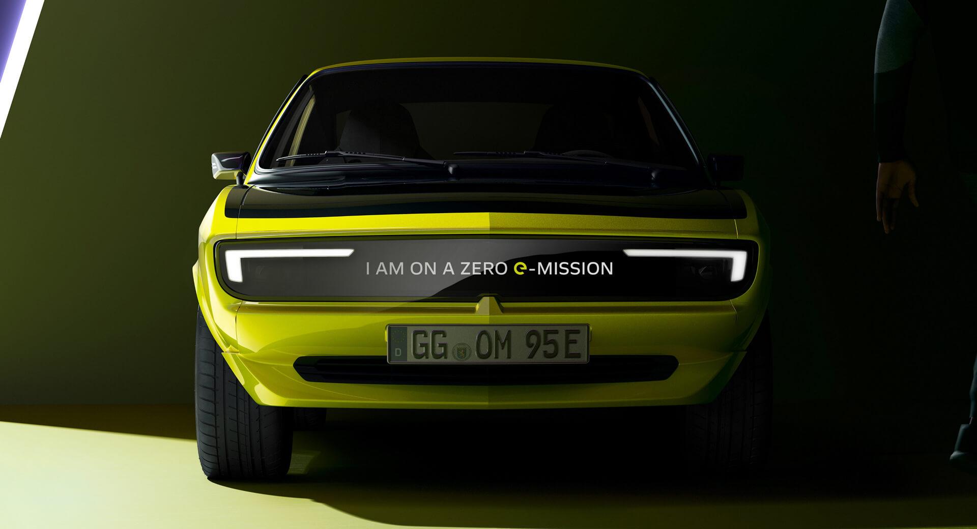 2021 Opel Manta Gse Elektromod 0