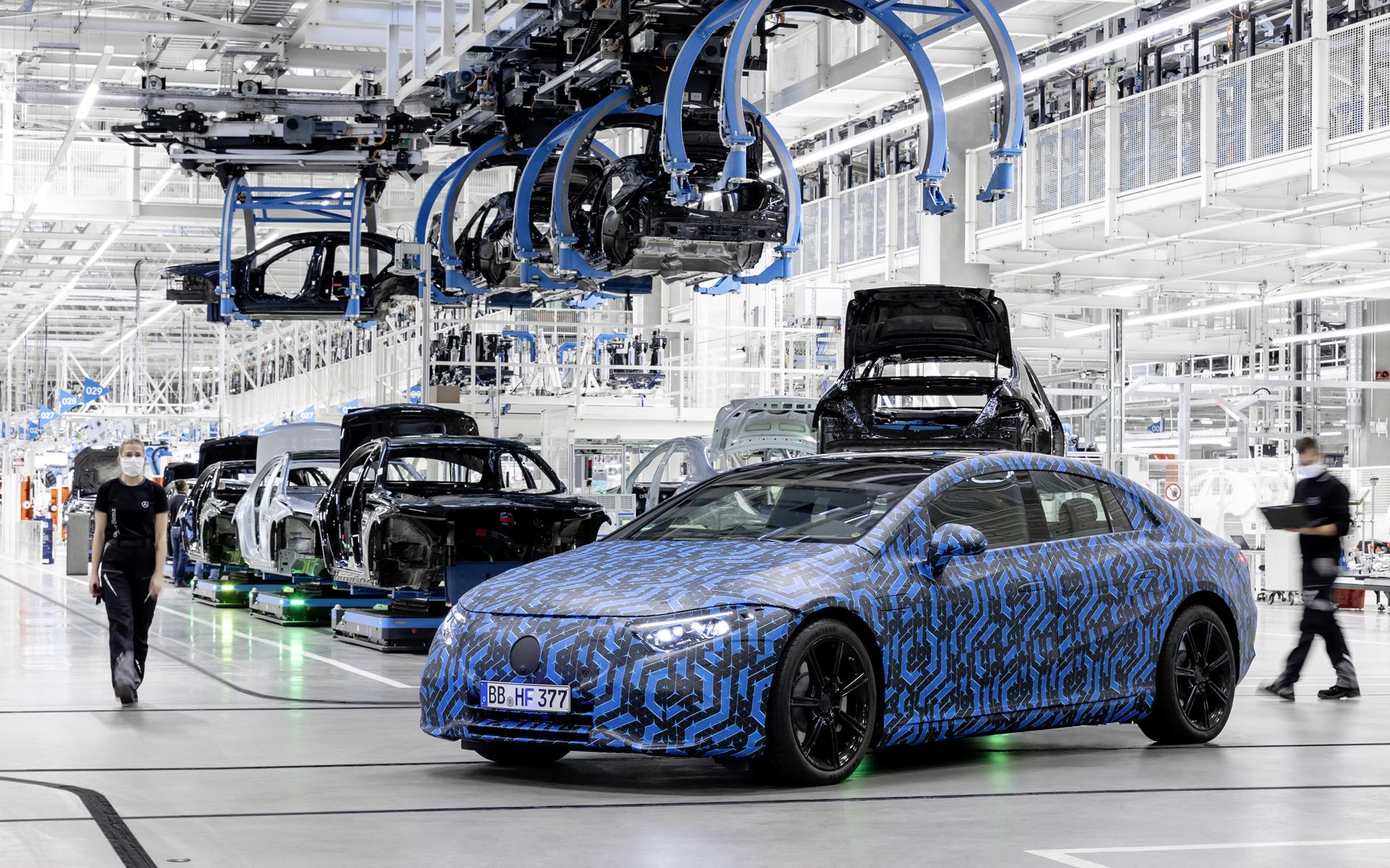 2022 Mercedes Benz Eqs Prototype 100773830 H