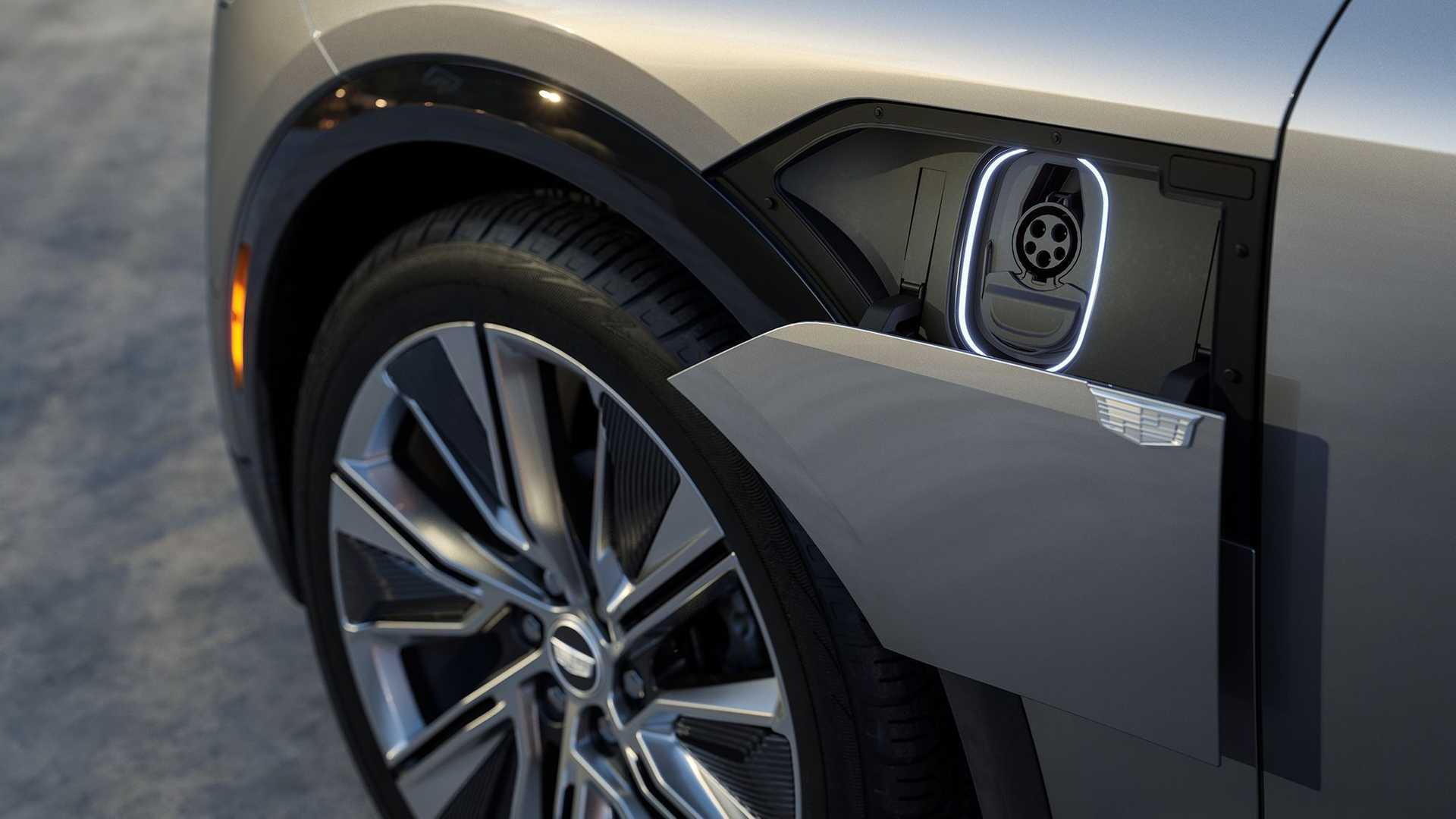 Cadillac Lyriq 2022 Charge