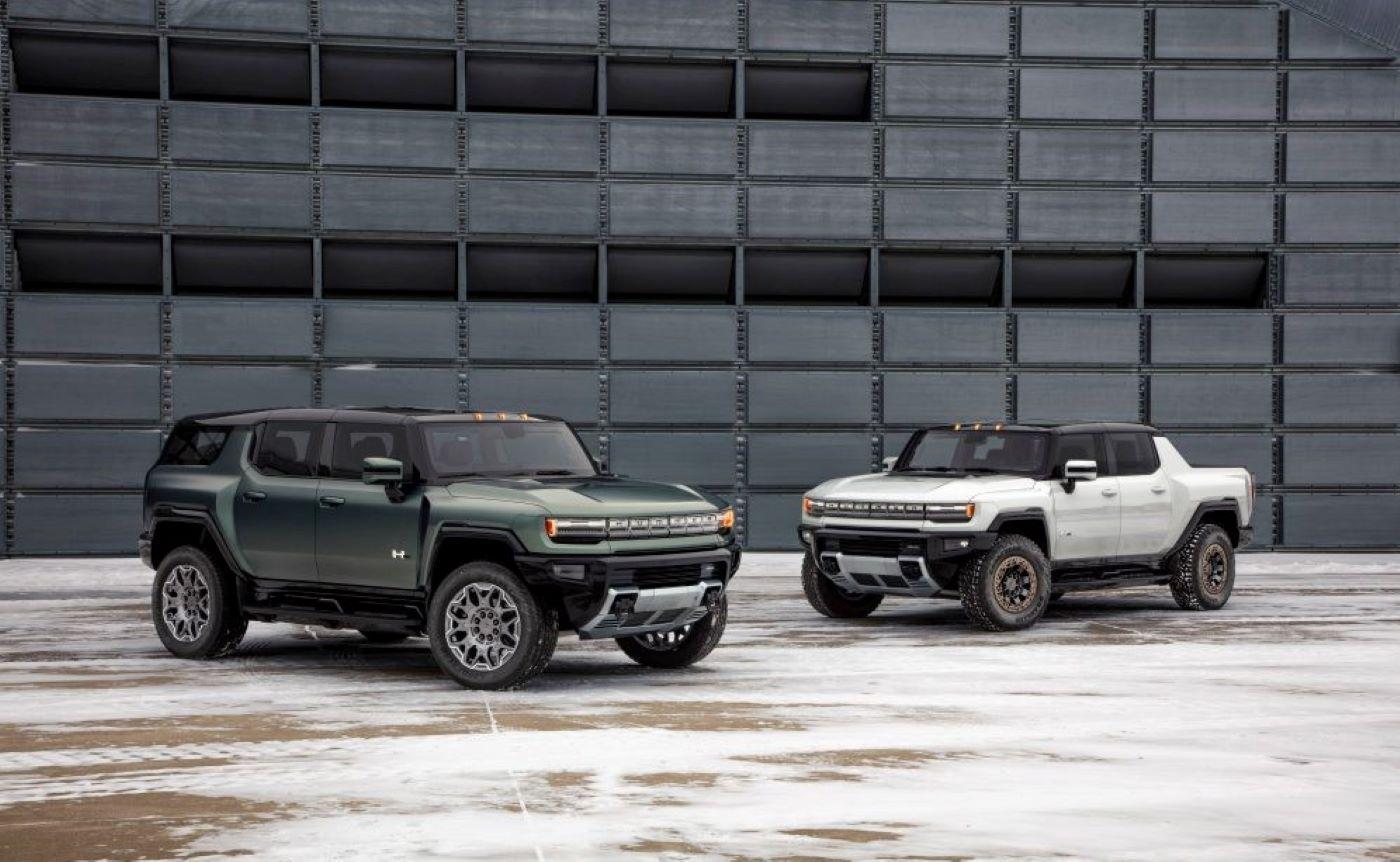 Gmc Hummer Ev Suv Pickup