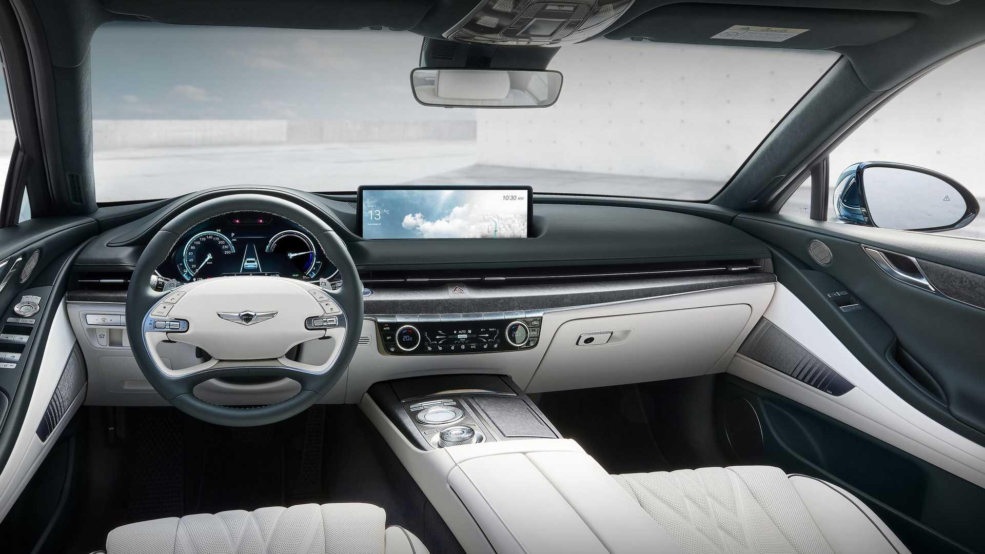 Genesis G80 Electric Interior