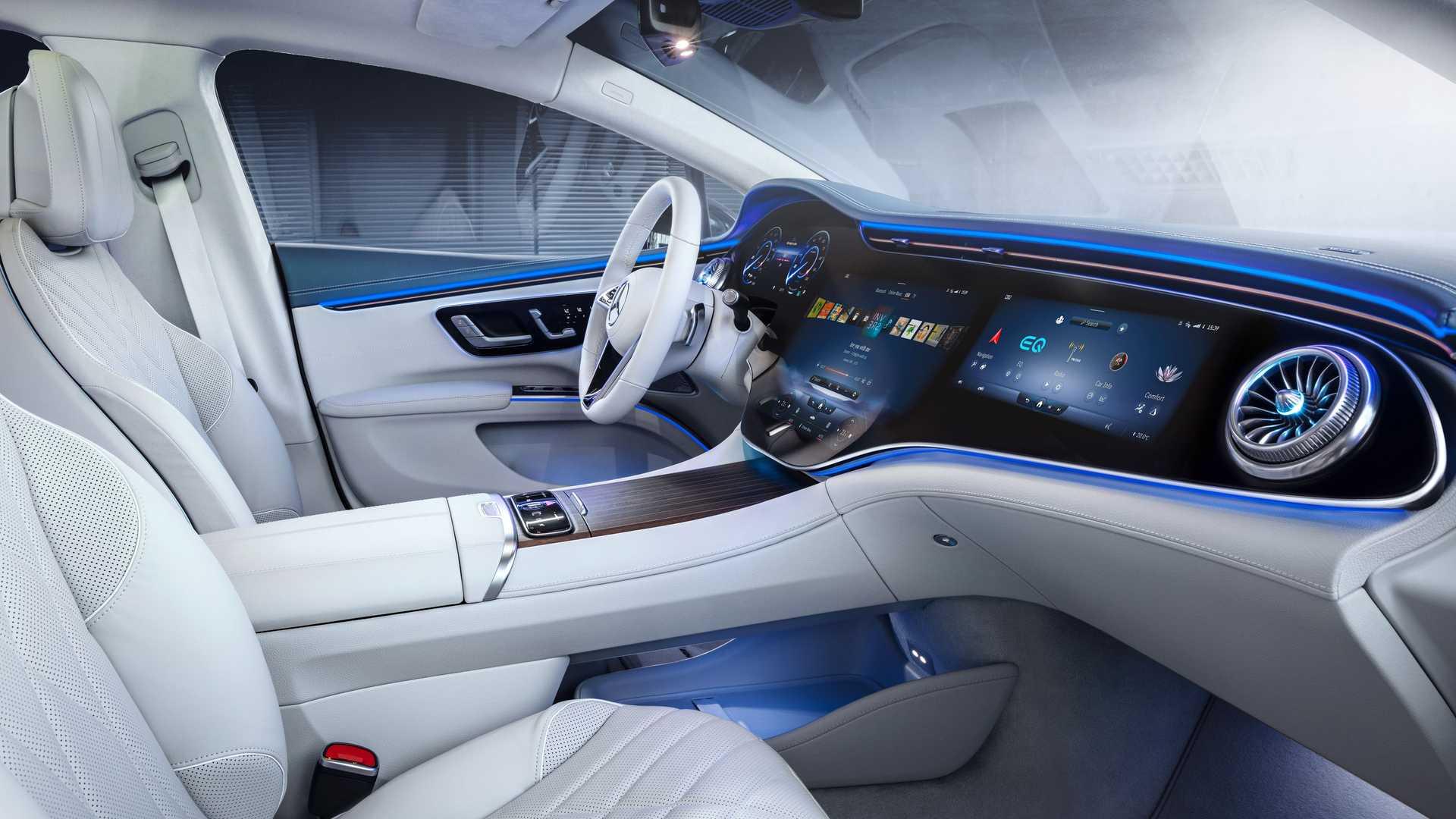 Mercedes Benz Eqs 580 Interior