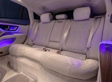 Mercedes Benz Eqs Gold Interior Back