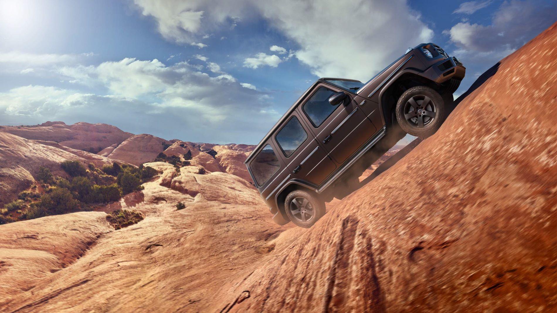 Mercedes Benz G Class Desert