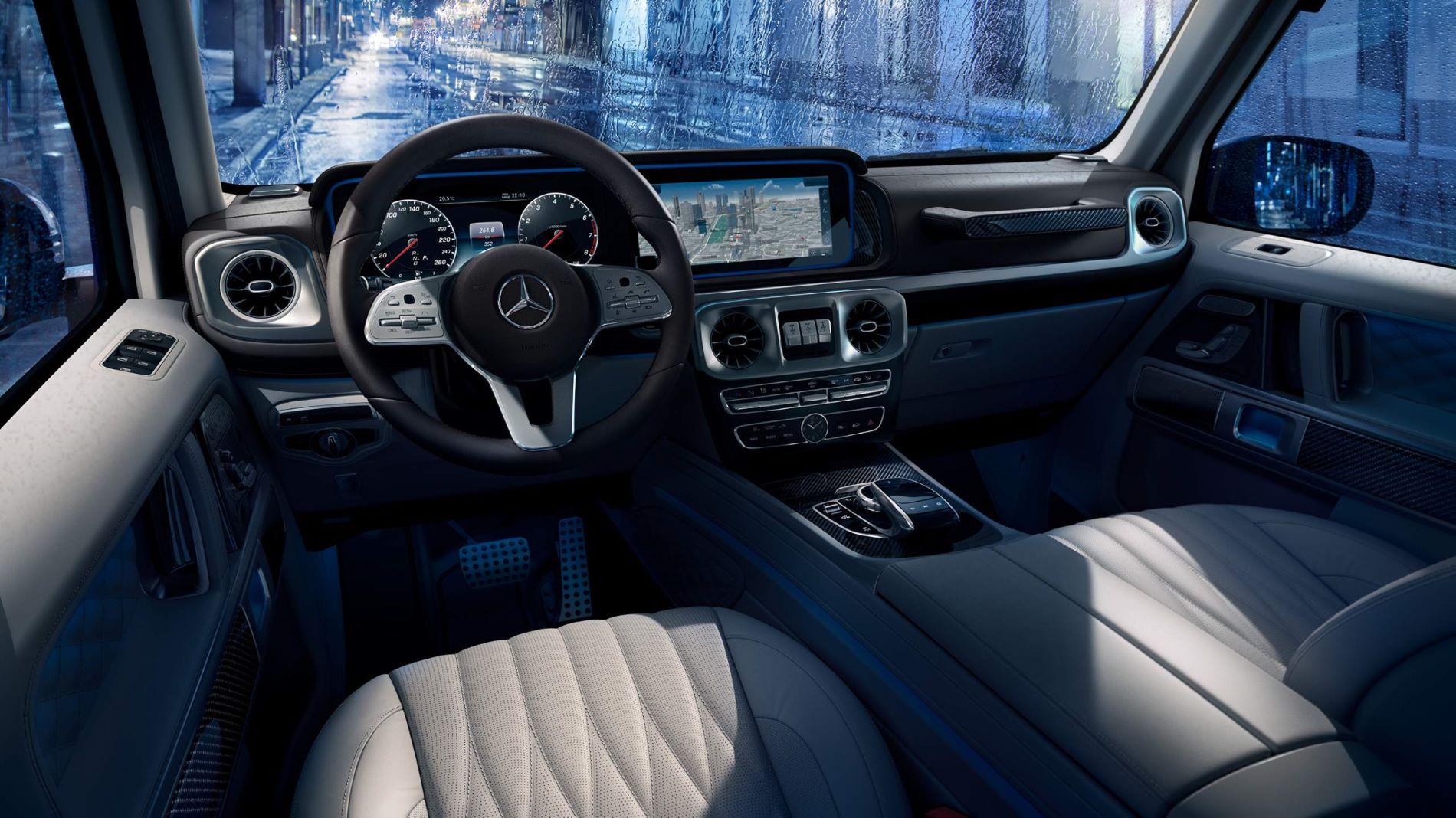 Mercedes Benz G Class Interior