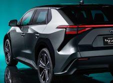 Toyota Bz4x Concept Back