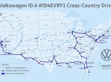 Volkswagen Id4 American Route Map
