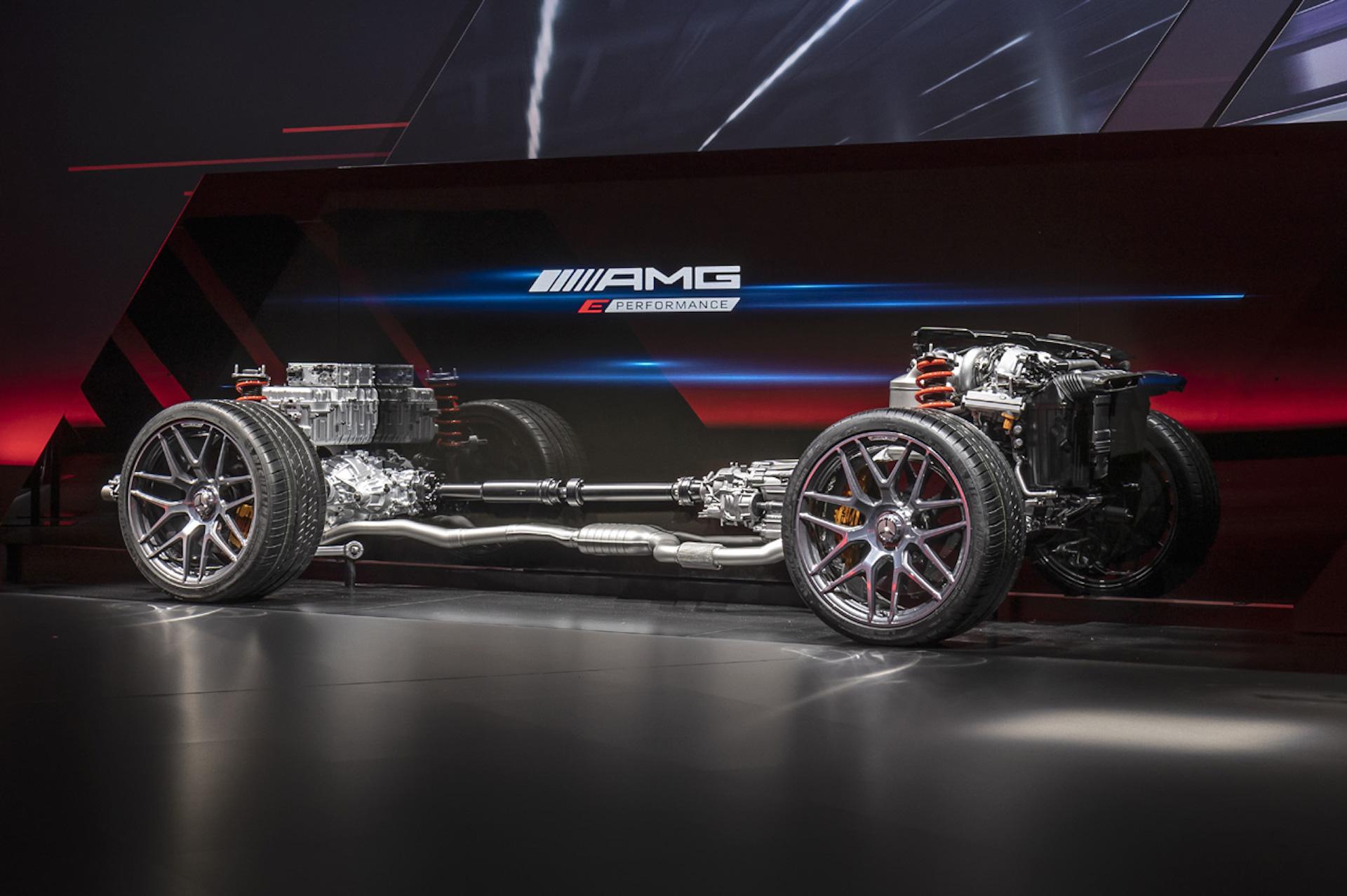 Mercedes Amg Cuatro Cilindros Hibrido 1