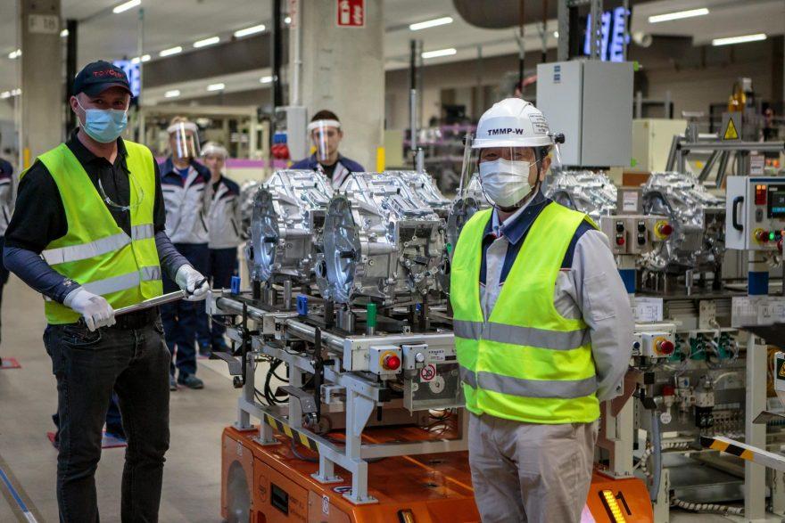 Toyota Polonia fabricación transmisión e-CVT