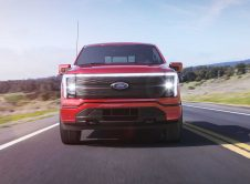 Ford F150 Lightning Front Red