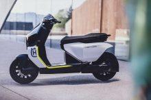 Husqvarna nos muestra un prototipo de su futura scooter eléctrica