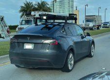 Tesla Modely Lidar Sensors